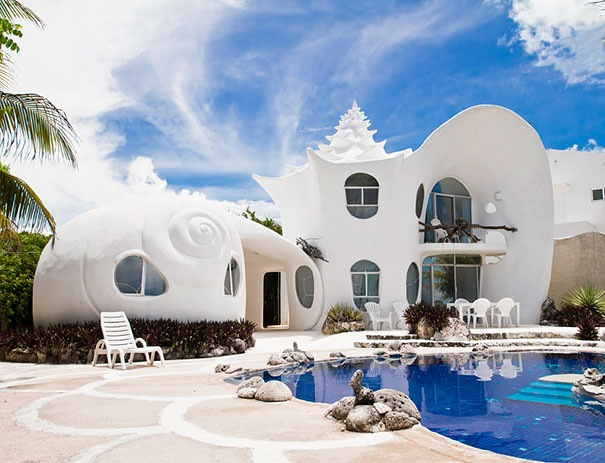 The Seashell House, Meksika