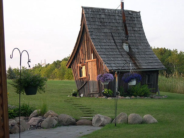 Rustic Way Whimsical House, Minnesota, Amerika