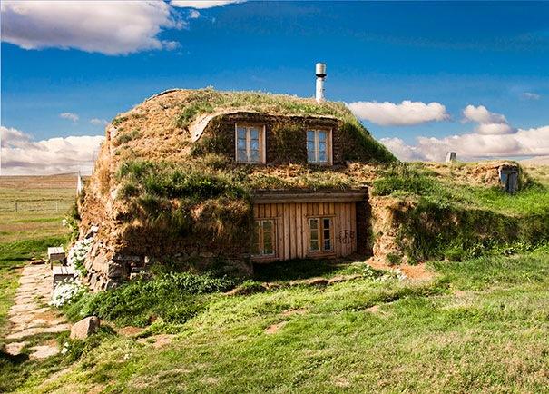 Traditional House, İzlanda